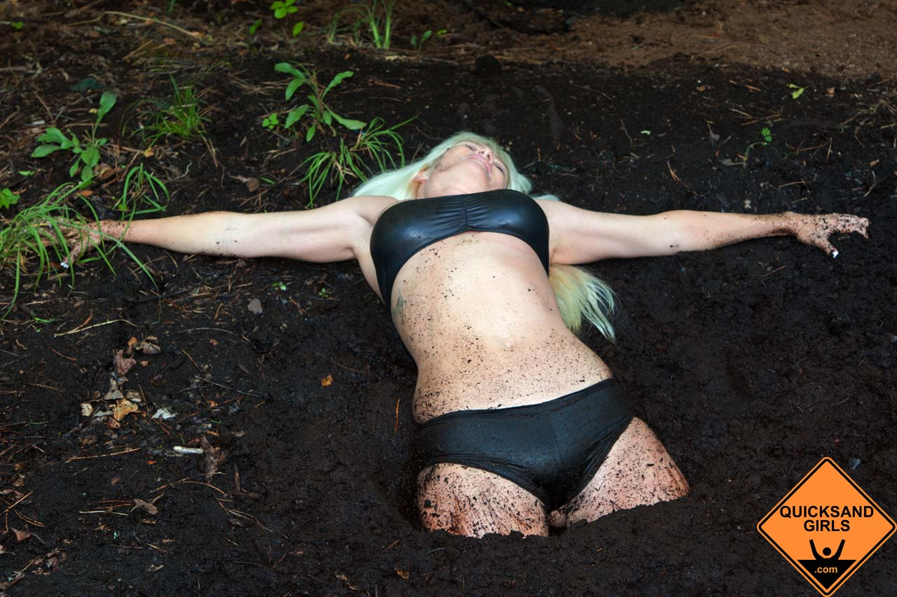woman in quicksand video